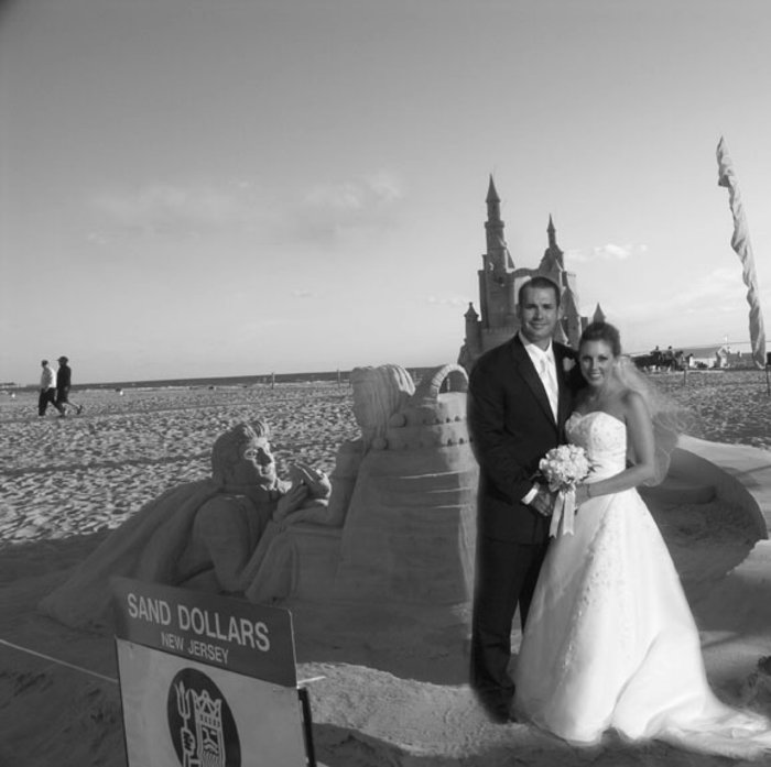 Neptune bride and groom Virginia beach
