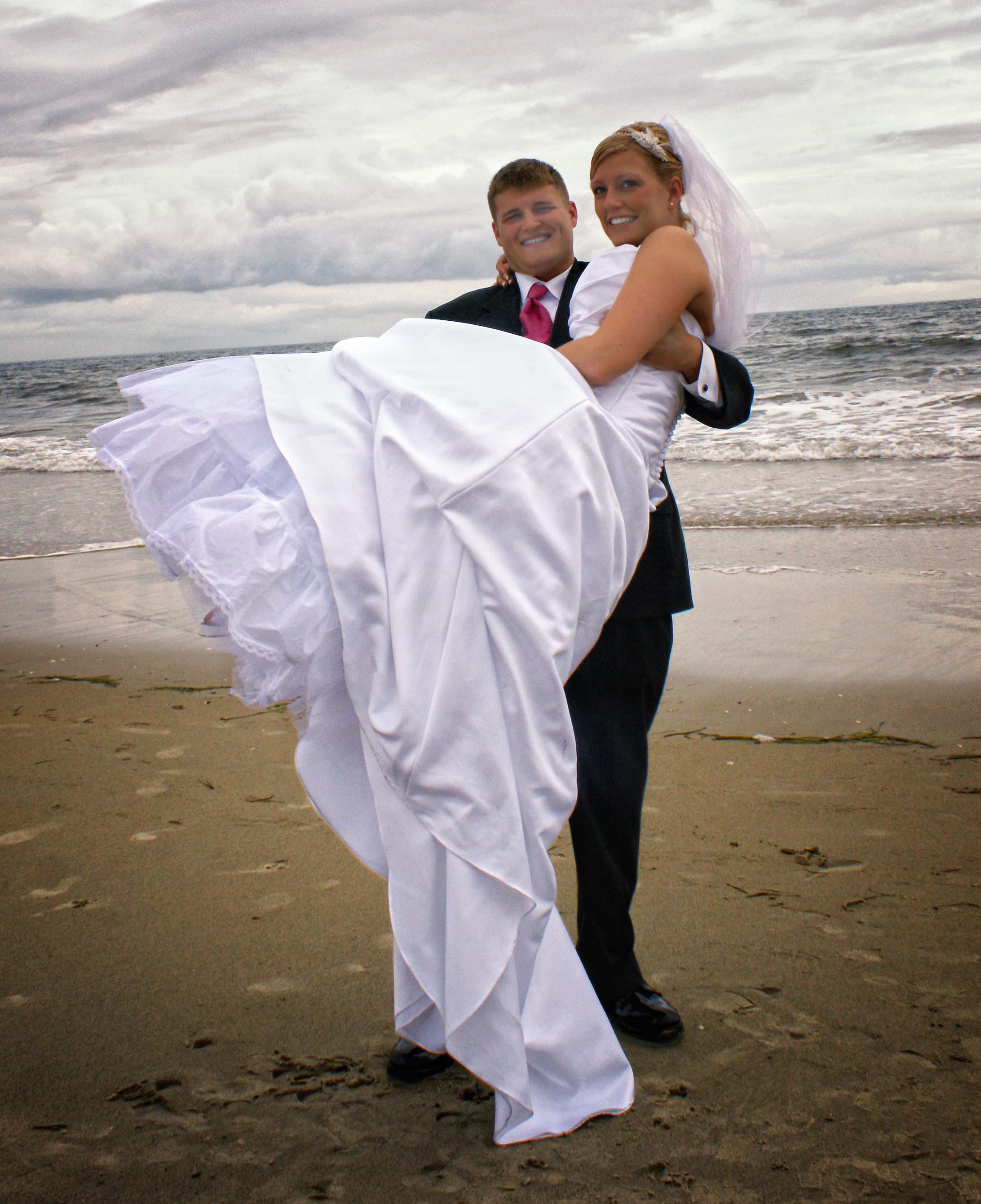 Virginia beach bride